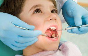 заболевания молочных зубов